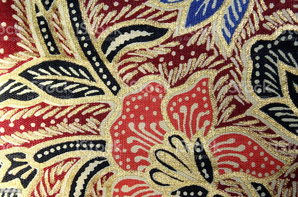 african textile 3 stock photo