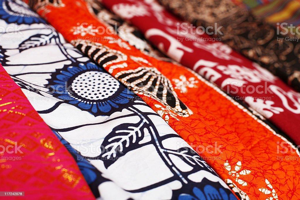 african textiles stock photo