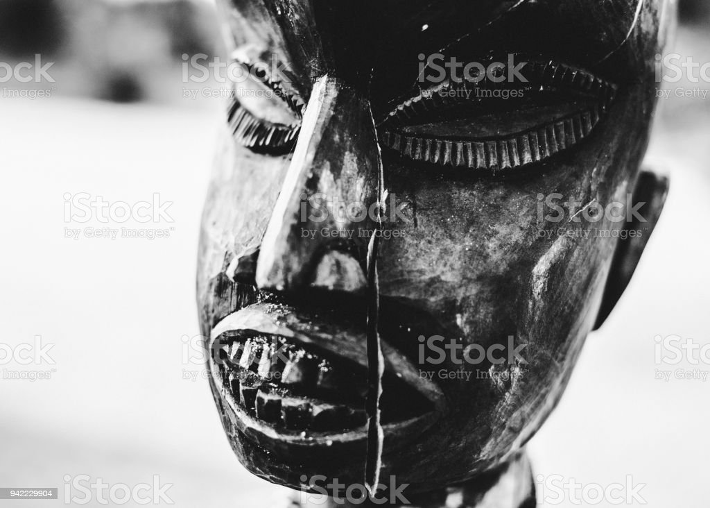 African tribal art - Benin, West Africa stock photo