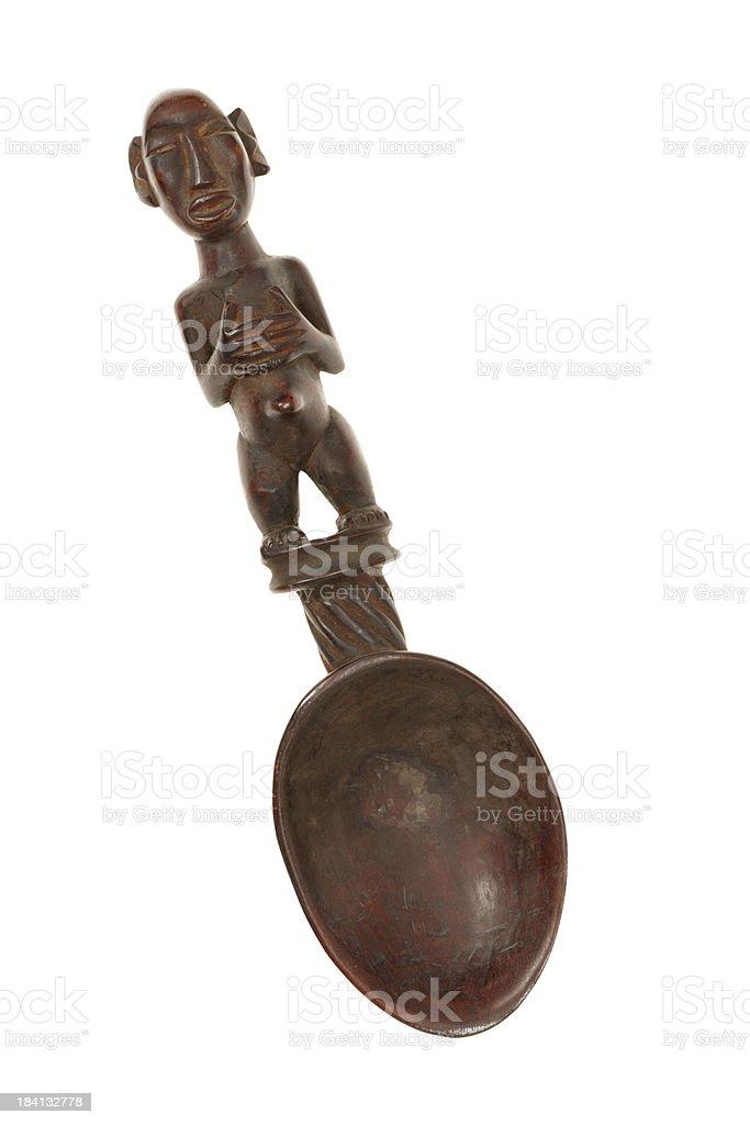 African tribal art figurine stock photo