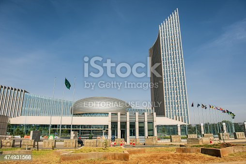 istock African Union's headquarters building in Addis Ababa, Ethiopia 474931566