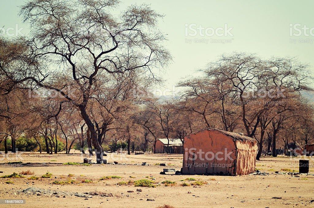 African village near Sesfontein in the Kunene region,Namibia foto