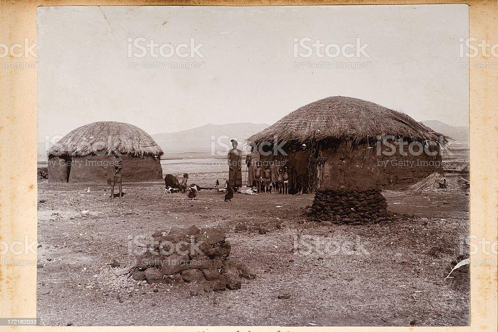 African village foto
