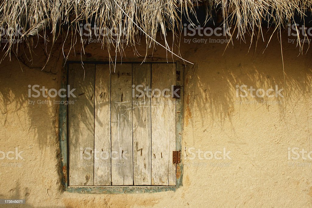african village royalty-free stock photo
