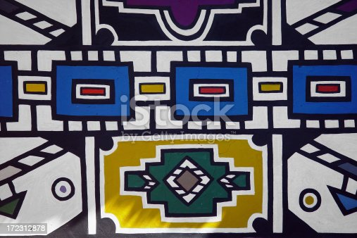 istock African wallpainting 172312878