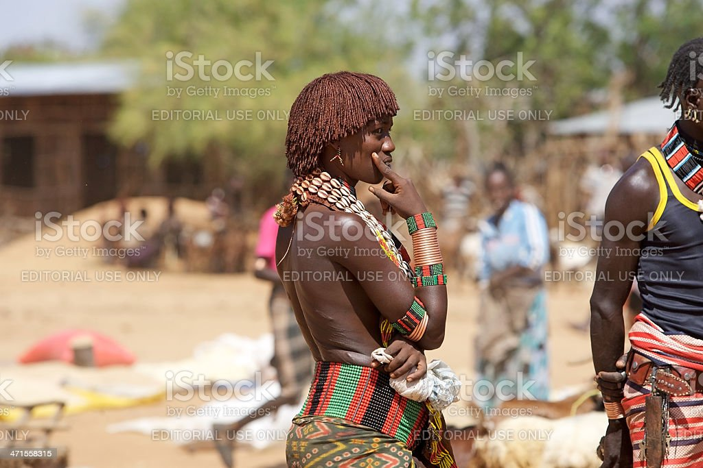 African woman royalty-free stock photo