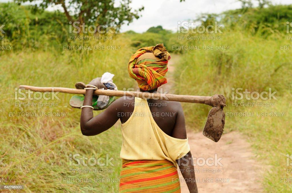Femme d'Afrique - Photo