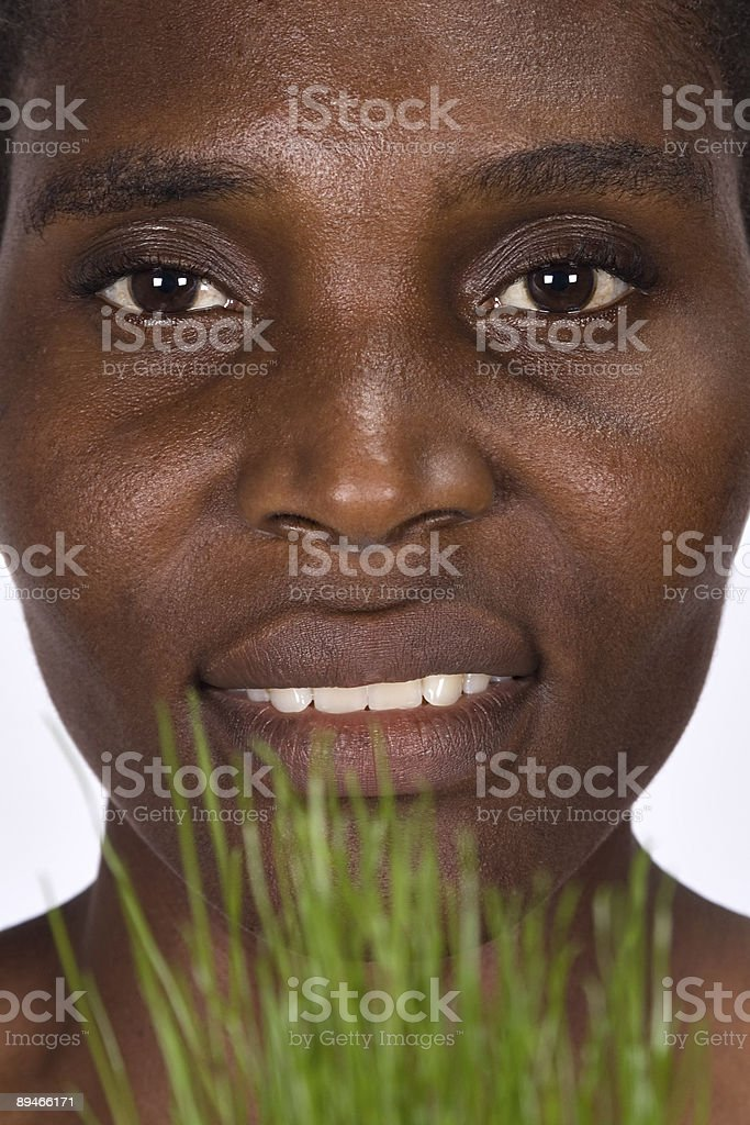 African woman portrait royalty-free stock photo