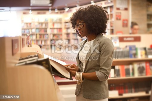 istock African women at bookstore 470927578