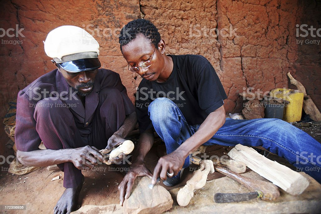 african workshop royalty-free stock photo