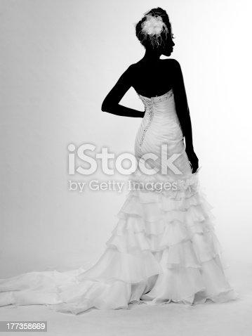 istock African-American bride 177358669