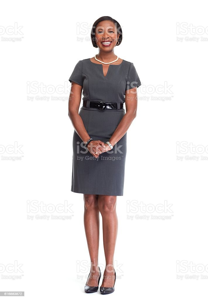 African-American business woman. royalty-free stock photo
