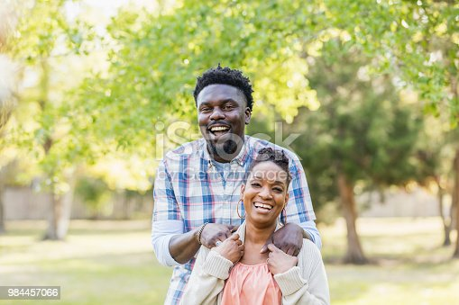 istock African-American couple standing outdoors 984457066