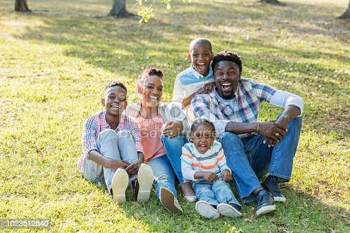 1091098026istockphoto African-American family with three boys 1023512540