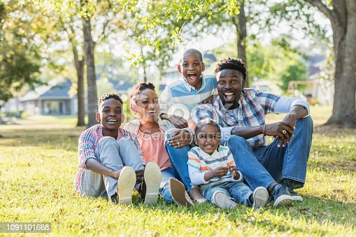 istock African-American family with three boys 1091101668