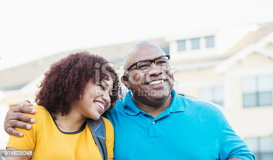 istock African-American father and daughter 914625048