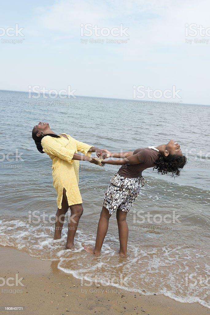 African-American Girlfriends royalty-free stock photo