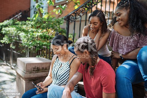 istock African-American people gathering together 1010795208