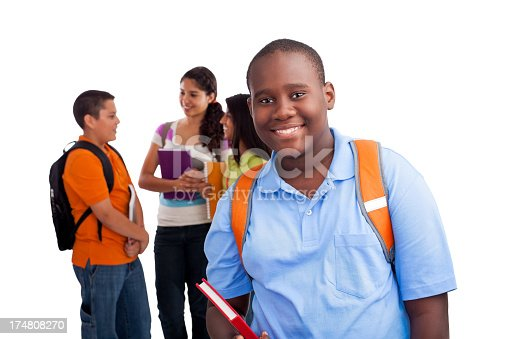 istock African-american student with classmates 174808270