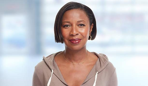 Afrikanische amerikanische Frau. – Foto