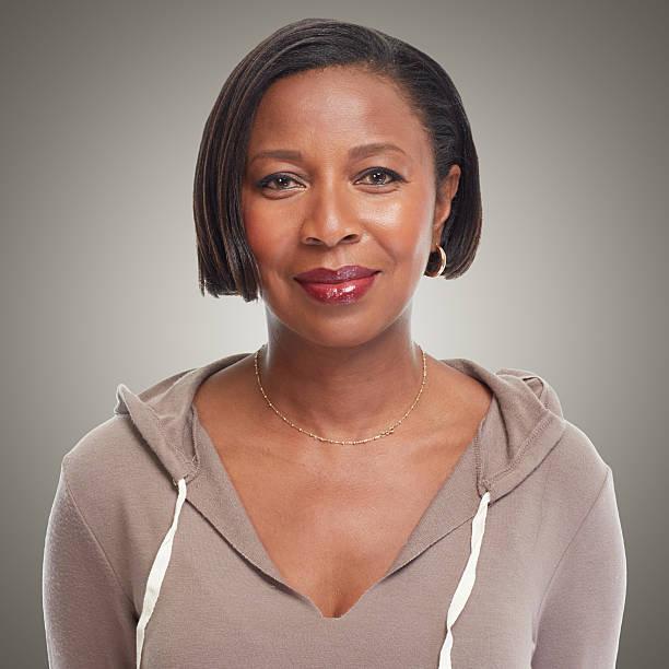African-American woman. stock photo