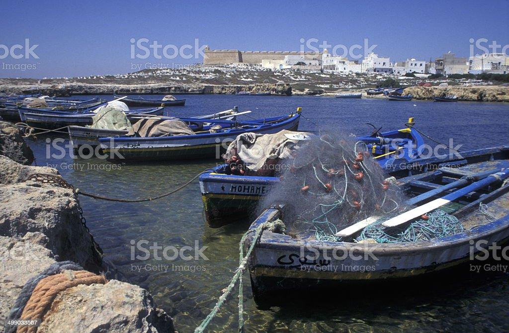 Afrika Tunesien Mahdia stock photo
