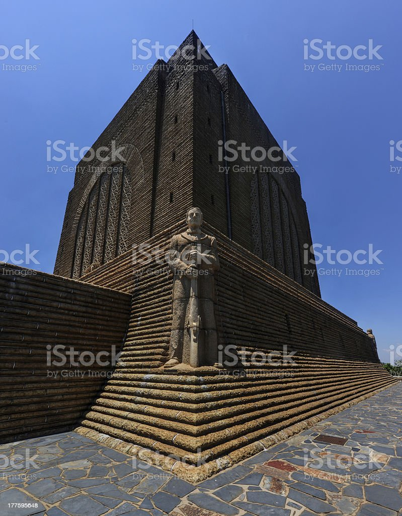 Afrikaner Leader at Voortrekker Monument royalty-free stock photo