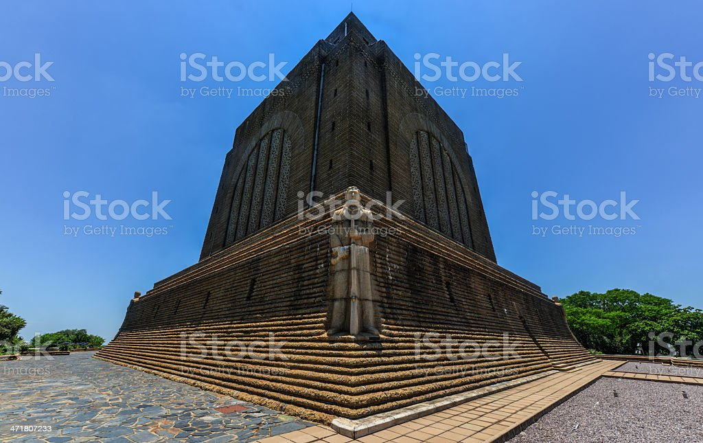 Afrikaner Leader at Voortrekker Monument royalty-free stock photo