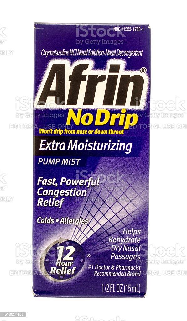 Afrin stock photo