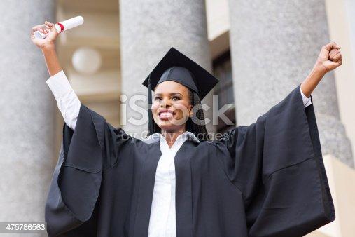 istock afro american female graduate 475786563