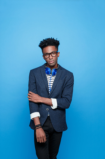 Afro American Guy In Fashionable Outfit Stock Photo - Download Image Now