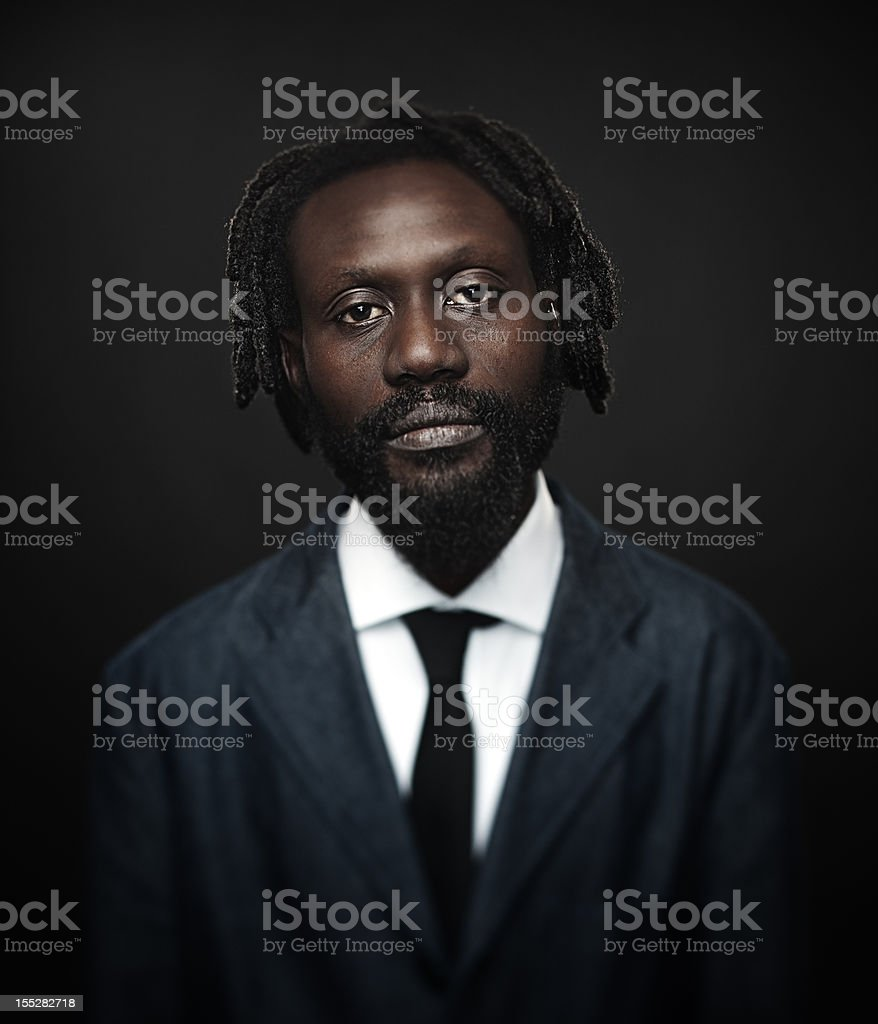 Afro american man royalty-free stock photo