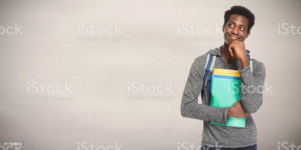 Afro american man. – Foto