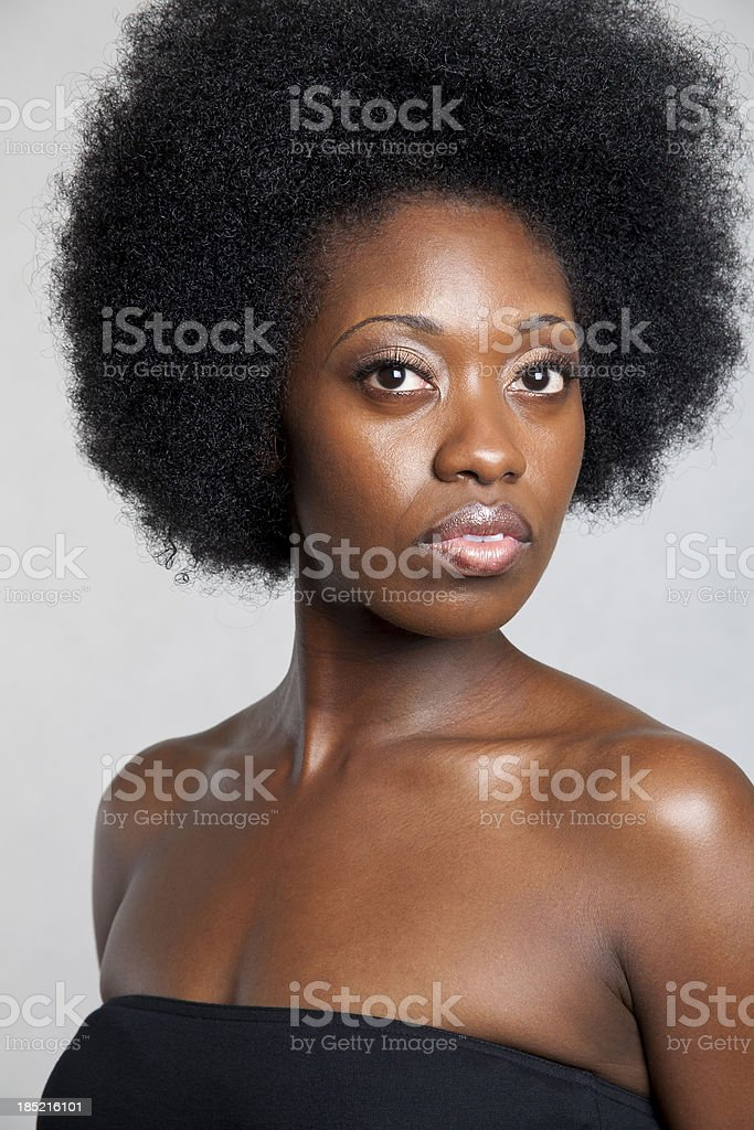 Afro Beauty stock photo