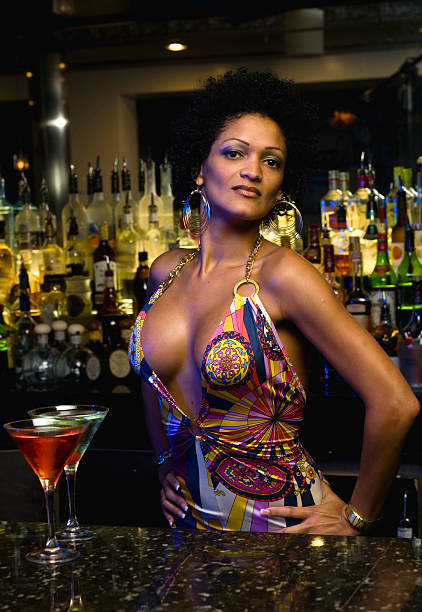 Afro caribbean bartender  haitian ethnicity stock pictures, royalty-free photos & images