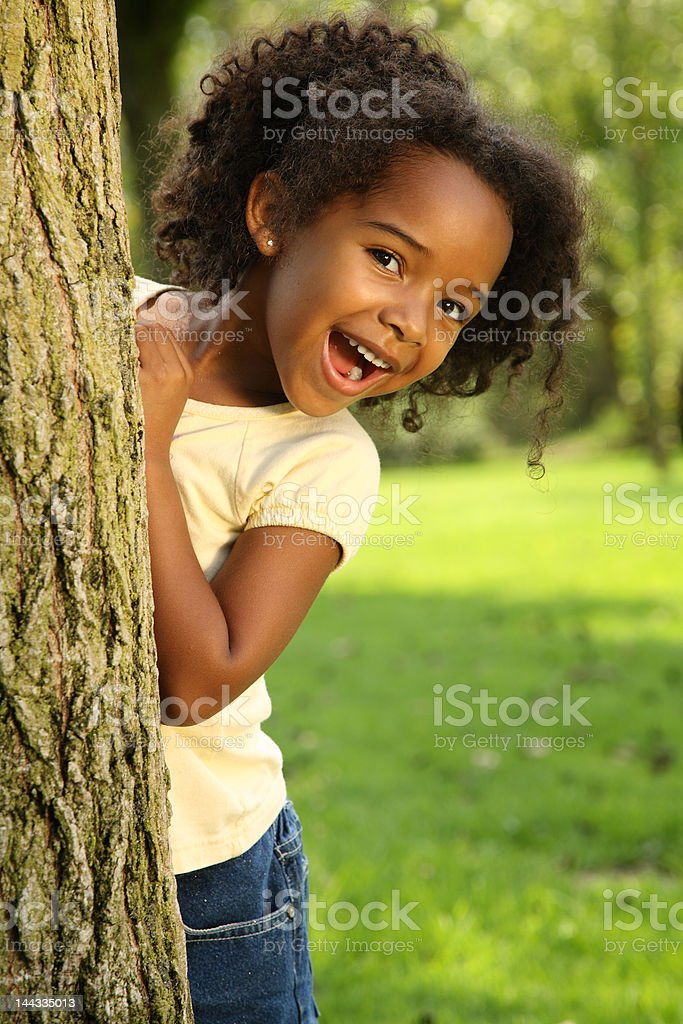 Afro Child royalty-free stock photo