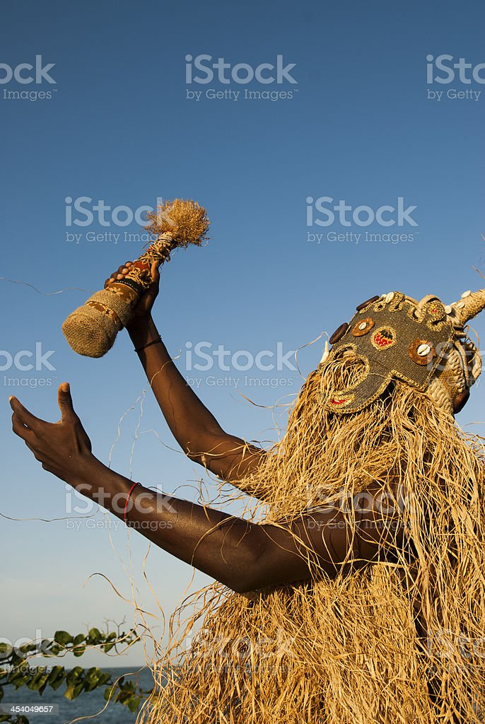 Afro dance stock photo
