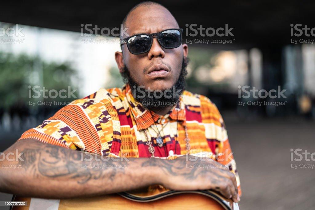 Afro descent Portrait stock photo
