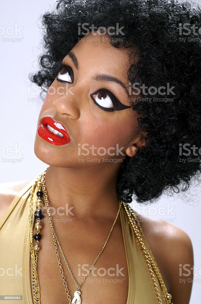 Afro Diva foto stock royalty-free