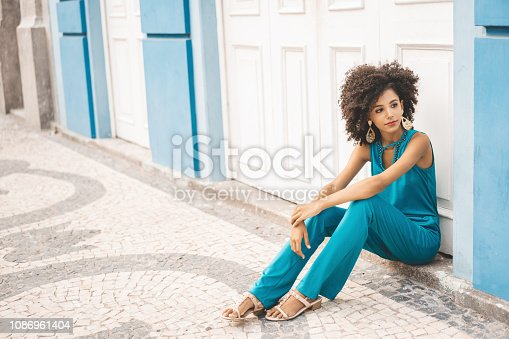 City Street, Dress, Street, Brazil, Fashion Model