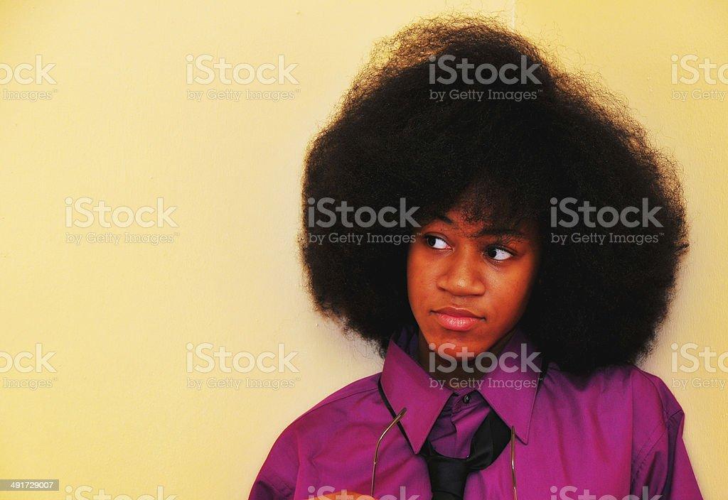afro stock photo