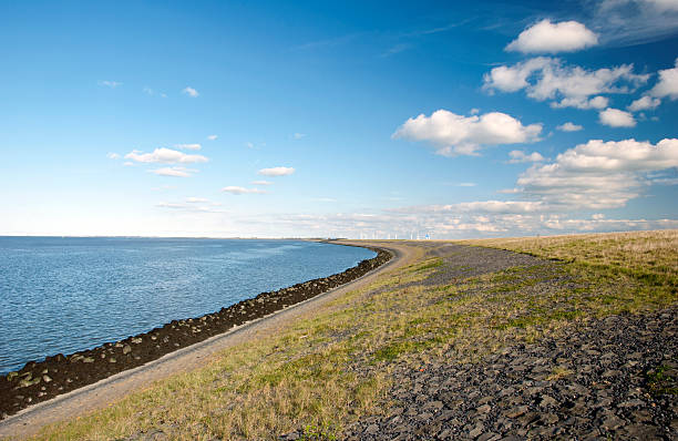 Afsluitdijk the Netherlands foto