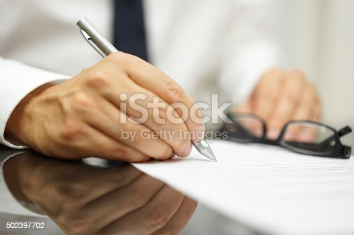 istock After a review of the sales contract Businessman finished deal 502397702