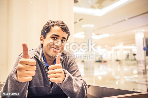 istock After a Successful Speech - Success - Thumbs Up 504984550