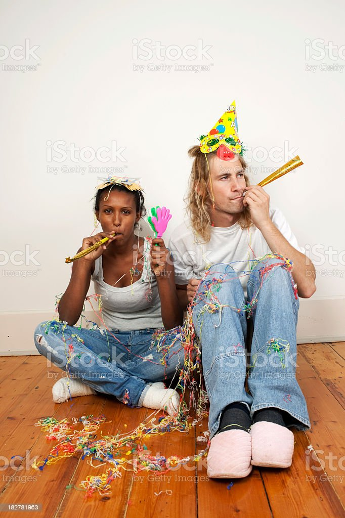 After birthday party. royalty-free stock photo