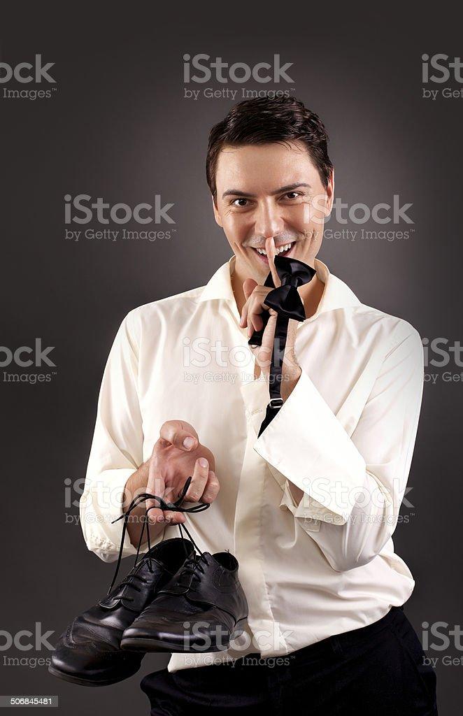 After job stock photo
