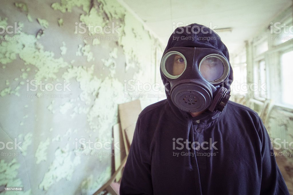 After Nuclear Disaster, Pripyat, Chernobyl, Ukraine stock photo