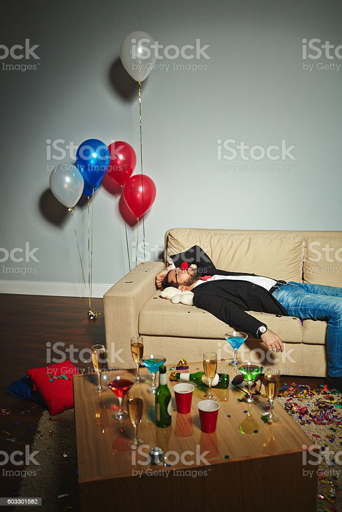 After party stock photo