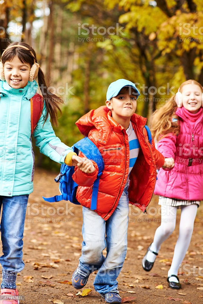 After school fun royalty-free stock photo