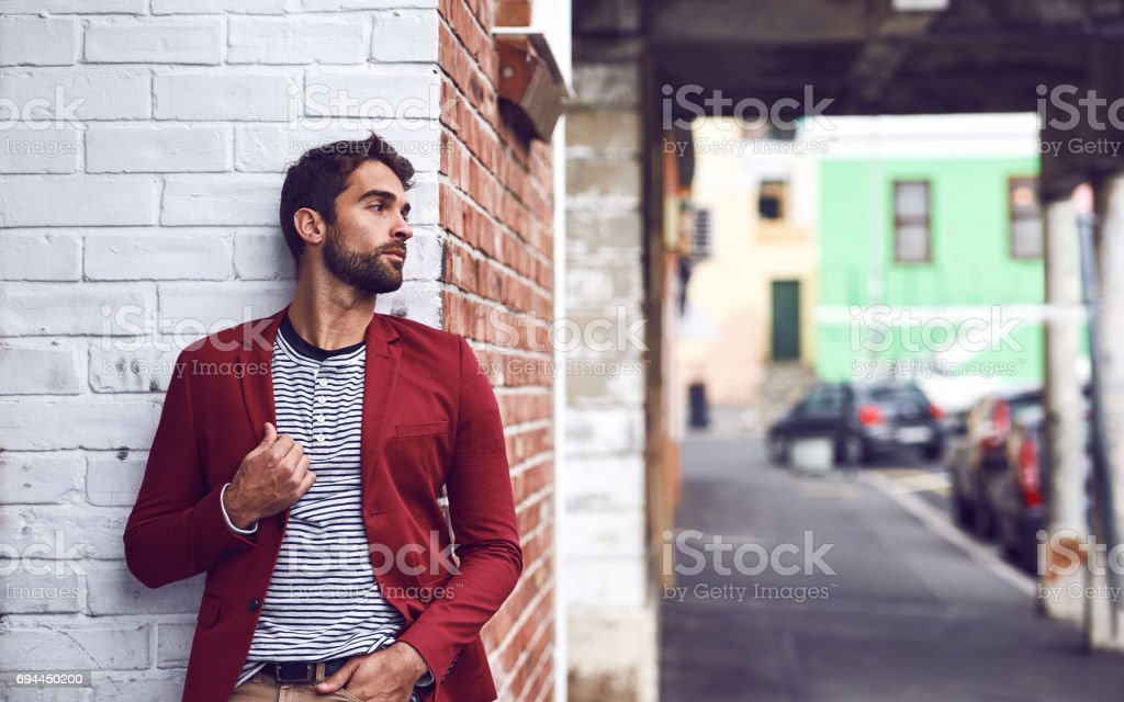 After some time you become part of the city stock photo